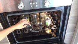 стерилизация банок в духовке электрической