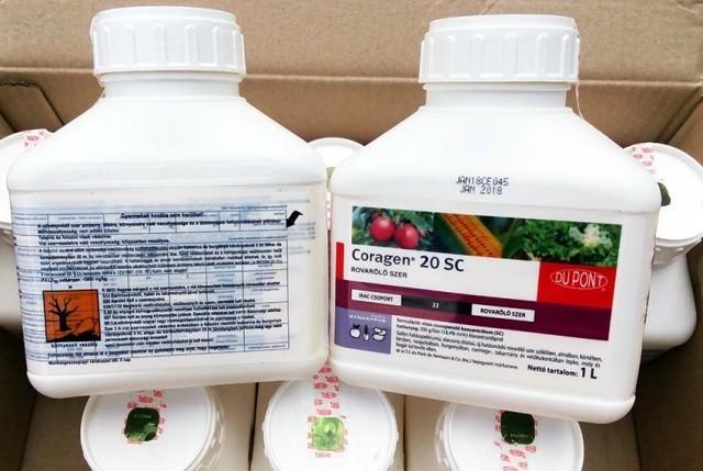 Инсектицид Кораген инструкция по применению